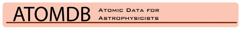 ATOMDB Banner